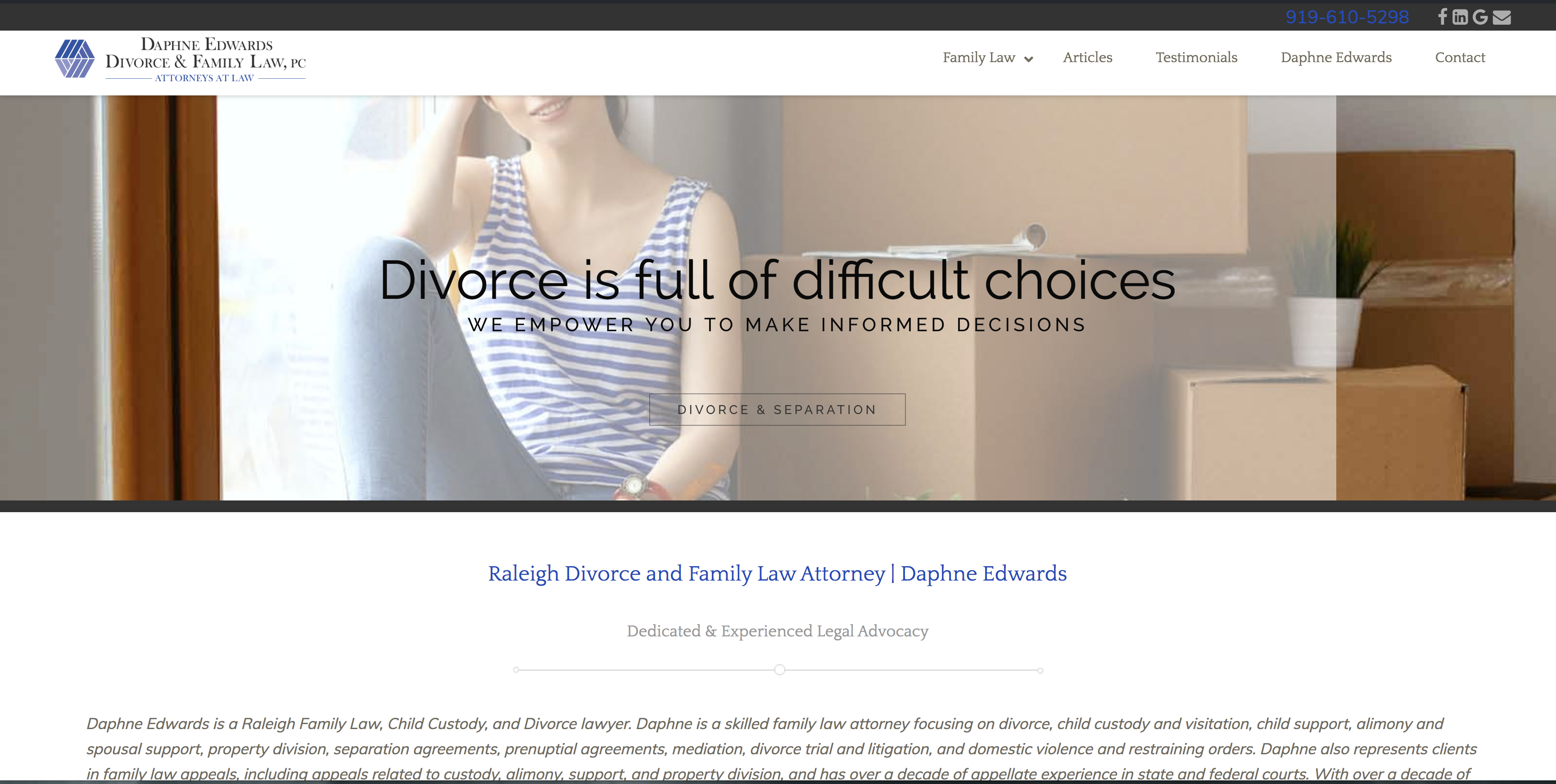 Daphne Edwards Divorce and Family Law Attorney
